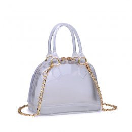 DOME JELLY BAG Clear