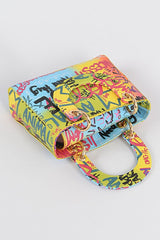 GRAFFITI RAINBOW MINI PURSE