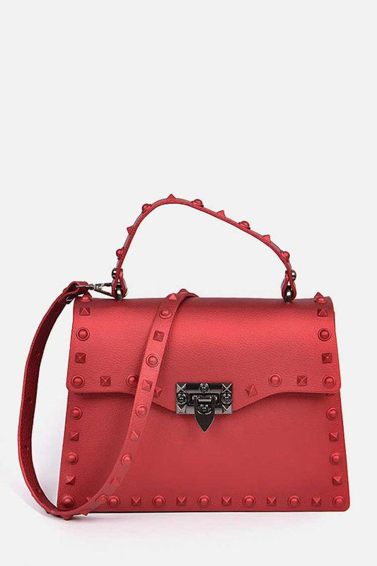 KELLY JELLY PURSE Red