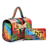 Queen Graffiti 2 in 1 Bag Multi