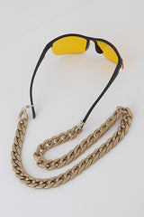 CHUNKY SUNGLASSES CHAIN Gold
