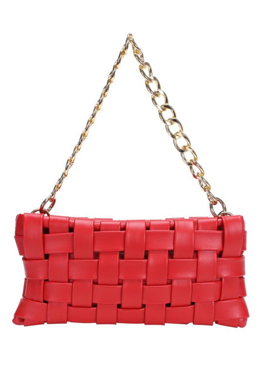Weave Bag Red