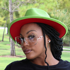 Green Red Fedora