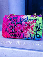 GRAFFITI RAINBOW BAG
