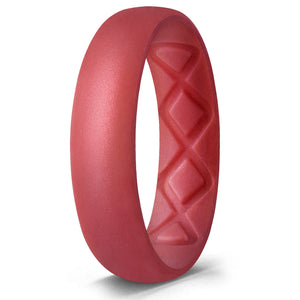 silicone-ring-women-red
