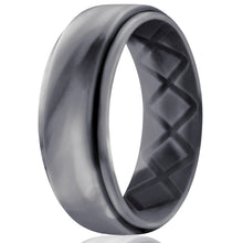 Load image into Gallery viewer, silicone-ring-camo-black