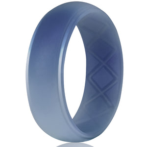 Egnaro Silicone Wedding Ring for Men Rubber Bands,Up to 14