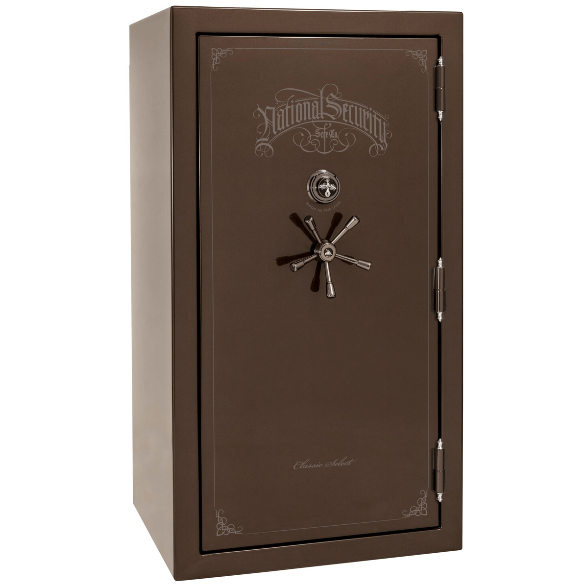"Classic Select | 40 | Level 6 Security | 90 Minute Fire Protection | Bronze Gloss | Black Mechanical Lock | 66.5""(H) x 36""(W) x 32""(D)"