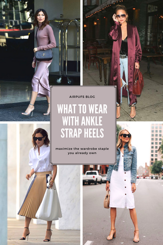 ways to style ankle strap heels