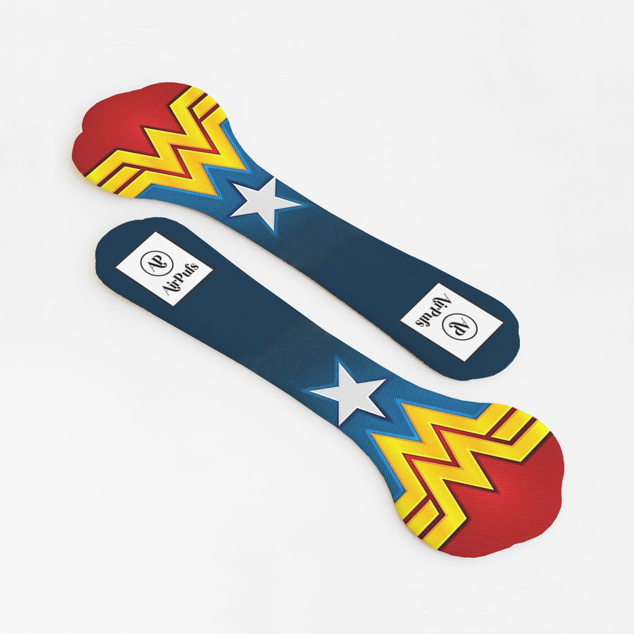 DC's Wonder Woman Print Bridesmaids Shoe Insoles for High Heels and Flats- Airpufs