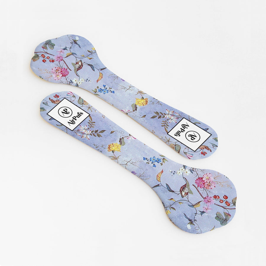 Woodland Floral Faerie Print Bridal Shoe Insoles for High Heels and Flats- Airpufs