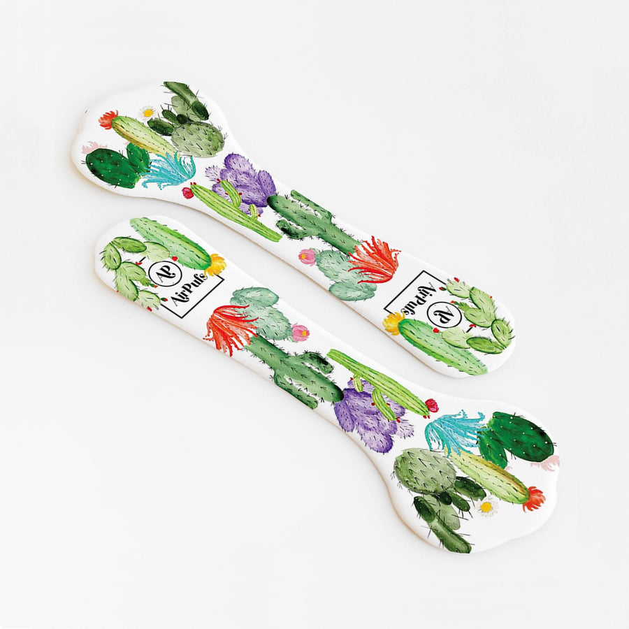 Sweetpea's Cactus Patch Print Bridesmaids Shoe Insoles for High Heels and Flats- Airpufs