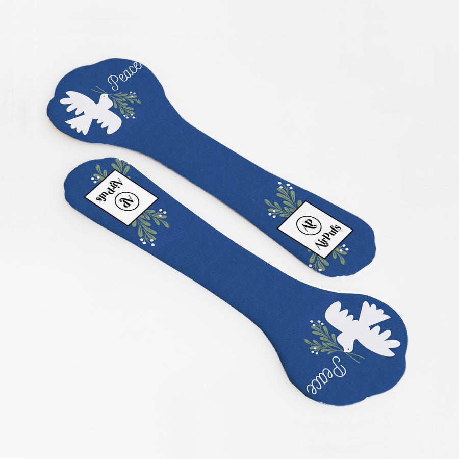 High Heel Insoles- Shoe Inserts- Airpufs-Christmas Edition: Peace