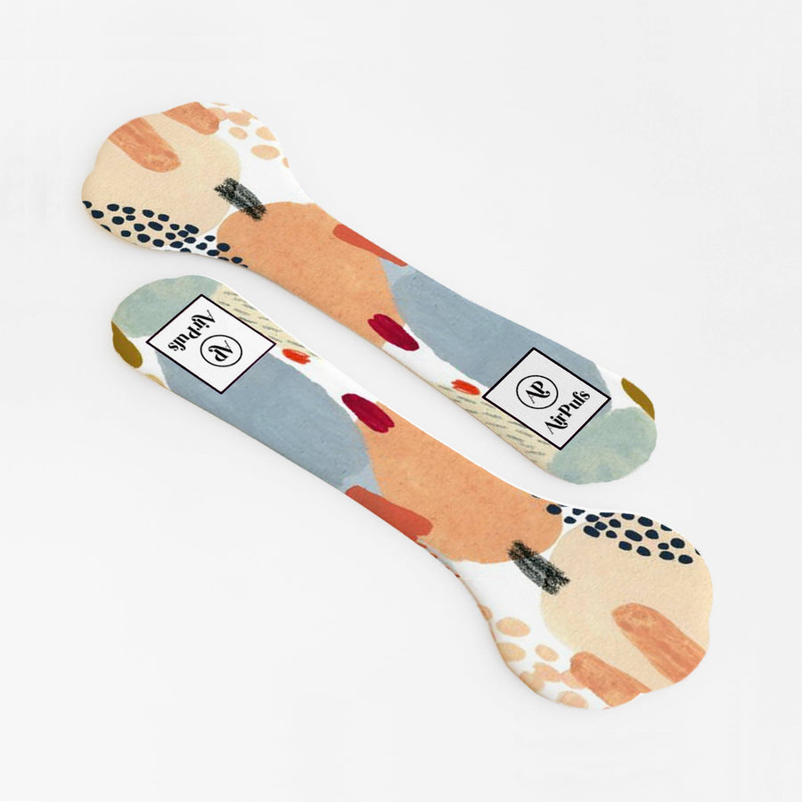 Abstract Desert Dust painting Print Shoe Insoles for High Heels and Flats- Airpufs