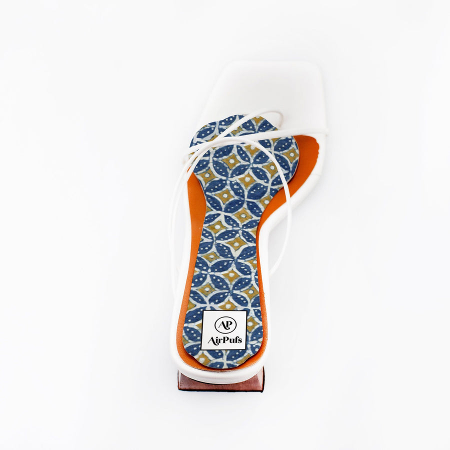 High Heel Insoles- Shoe Inserts- Airpufs-Batik 1: Semeru