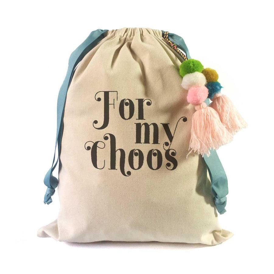 Shoe Quotes Travel Shoe Bag (Carrie Bradshaw):