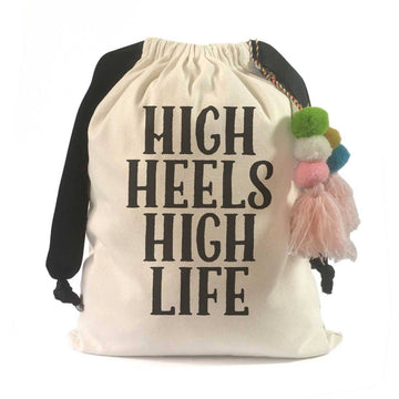 High Heel Insoles- Shoe Inserts- Airpufs-Shoe Quotes Travel Shoe Bag (Sonia Rykiel):