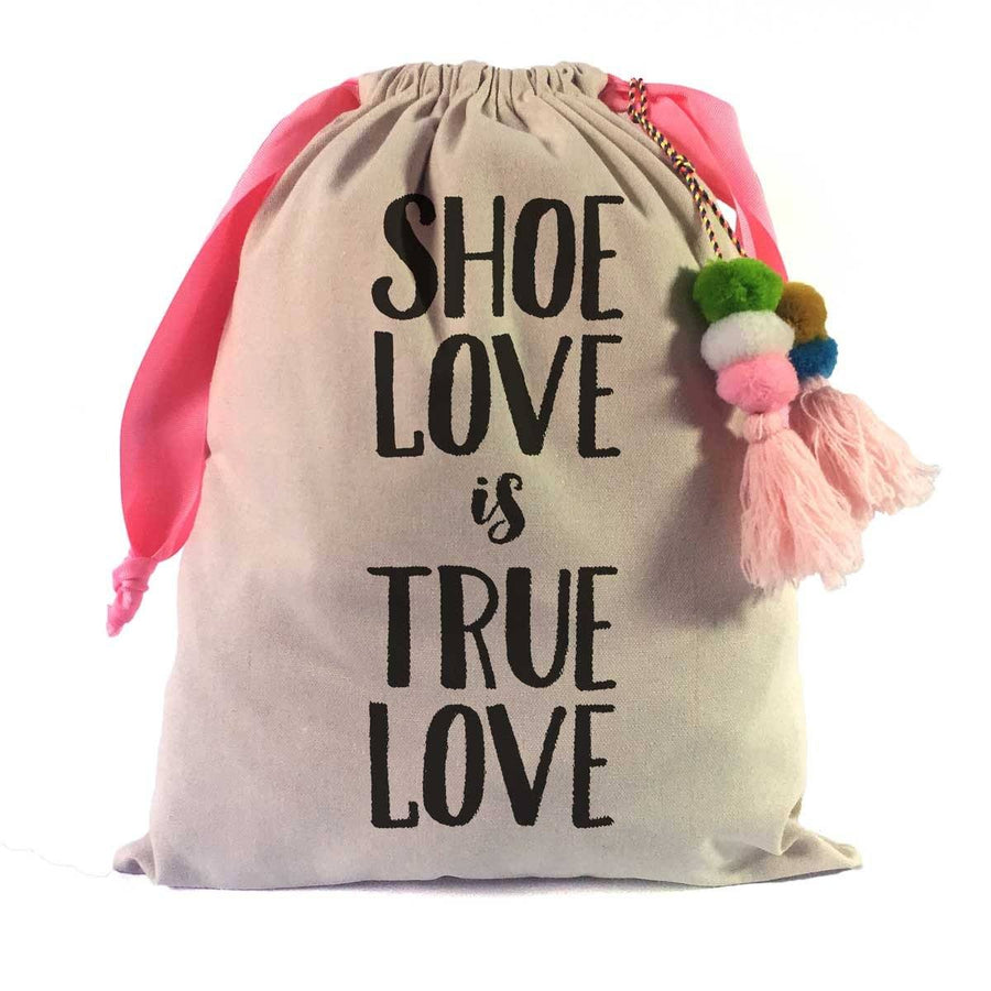 Shoe Quotes Travel Shoe Bag: