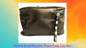 SUPER SALE! BOGO!    Buy ONE, Get ONE!   Victoria's Secret Rainbow Travel Train Case Duo Cosmetic/Makeup Bag