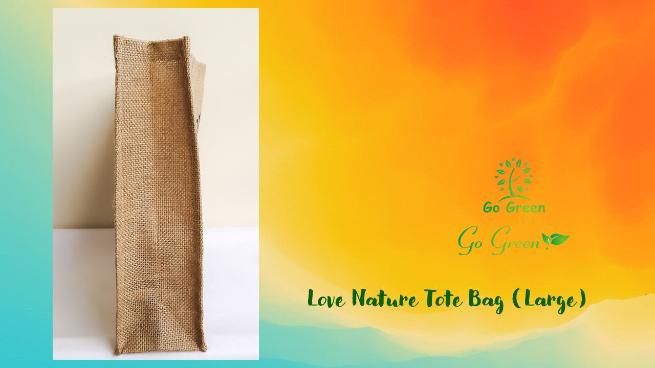 Love Nature Tote Bag (Big)