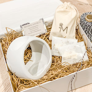 Wax Melt Burner Gift Set