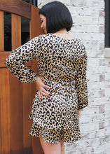 Load image into Gallery viewer, Kat Leopard Romper