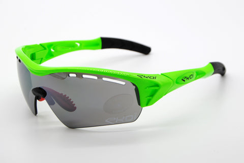 Ekoi Perso Evo 2 Green with Mirror Black Lense