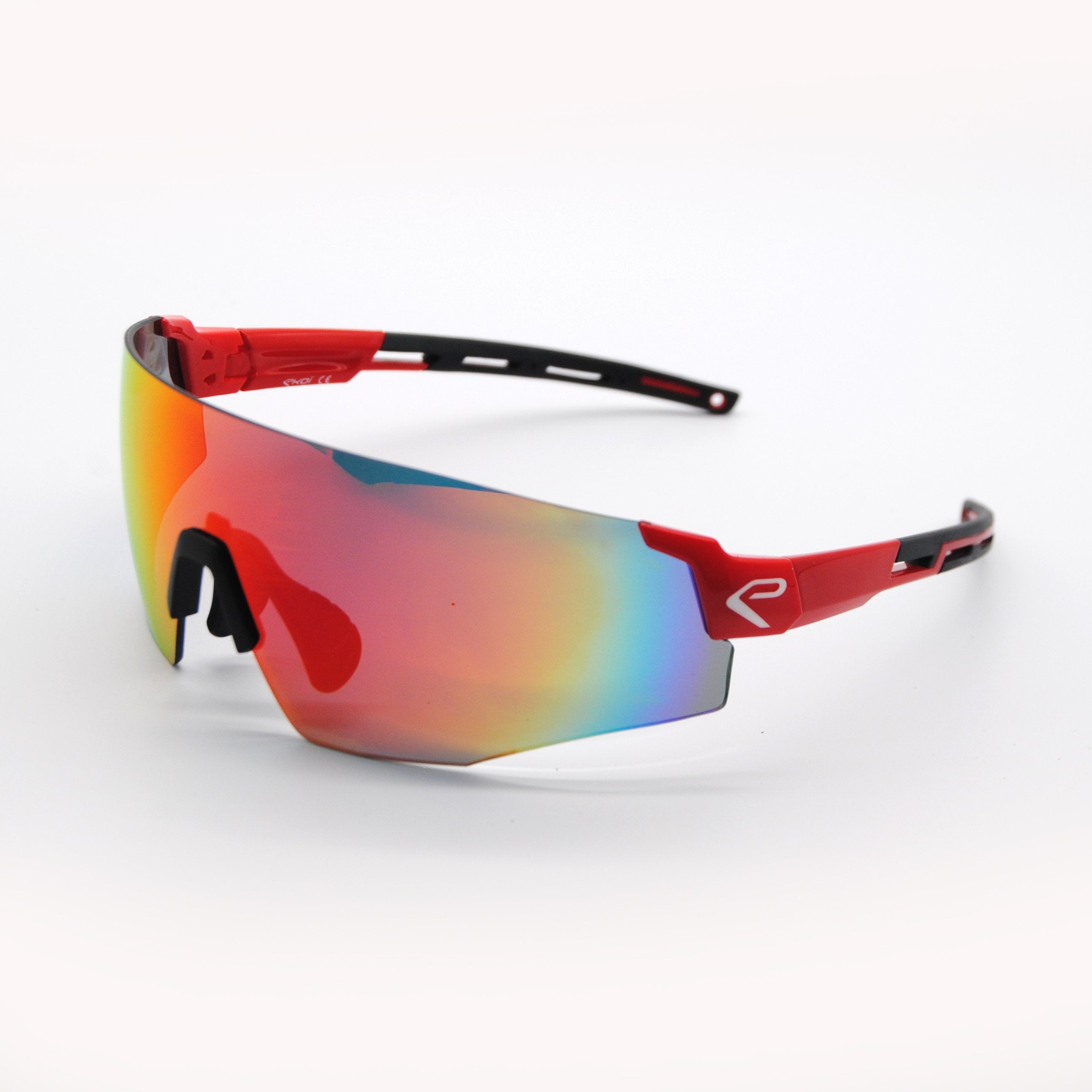 EKOI SUN OPTION RED SUNGLASSES