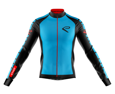 EKOI BIKE WINTER FASHION JERSEY BLUE