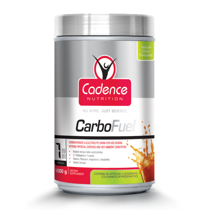 CADENCE NUTRITION CARBOFUEL NATURAL CITRUS