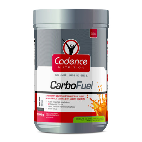 CADENCE NUTRITION CARBOFUEL RED BERRY