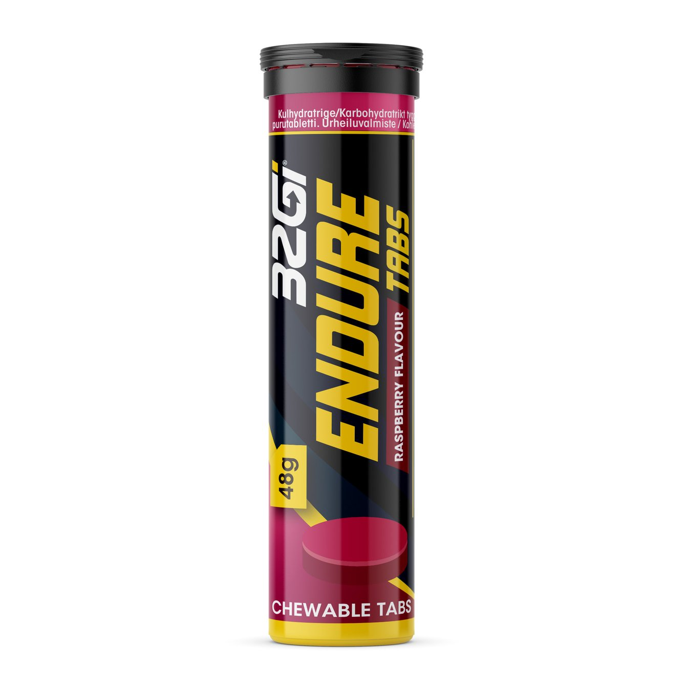 32Gi ENDURE TABS RASPBERRY