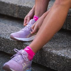 VERSUS RUNNING SOCKS PINK HIDDEN