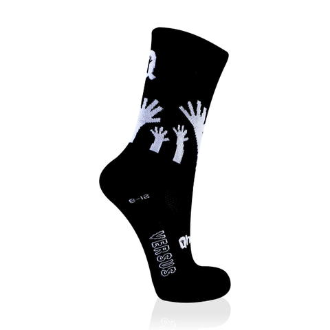 VERSUS CYCLING SOCKS QHUBEKA BLACK