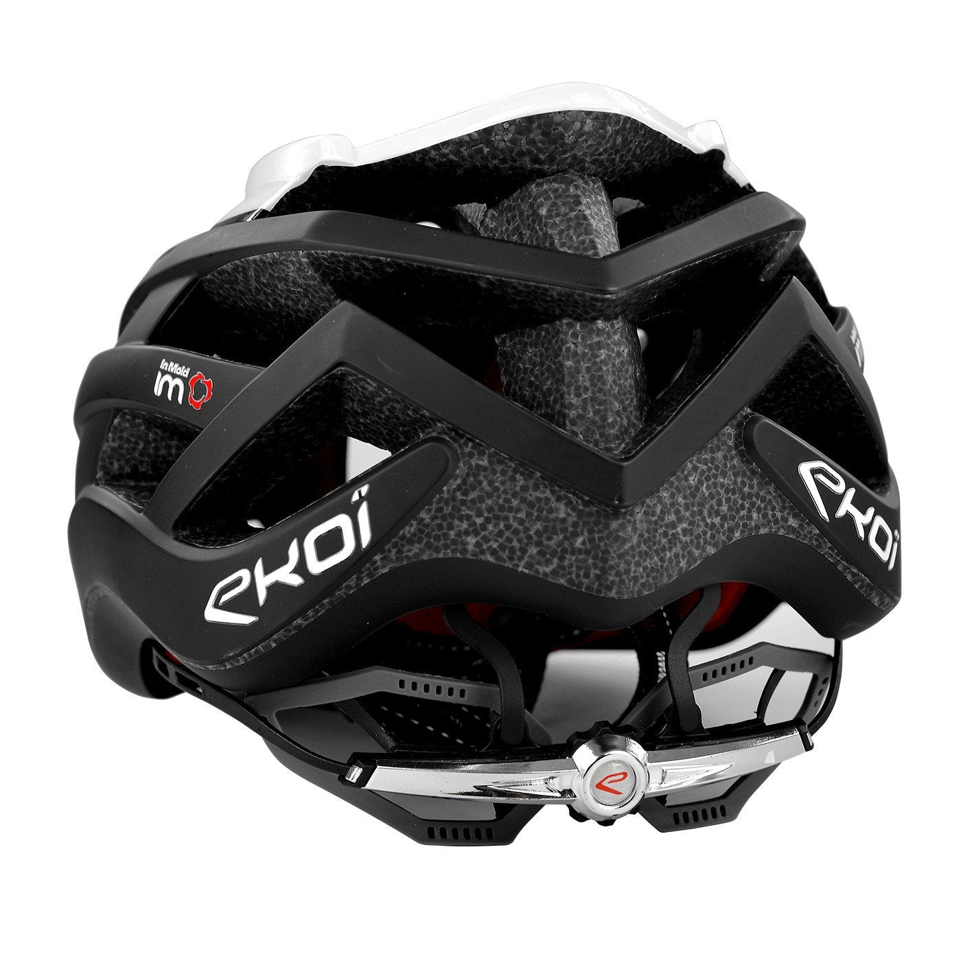 EKOI CORSA LIGHT WHITE BLACK HELMET