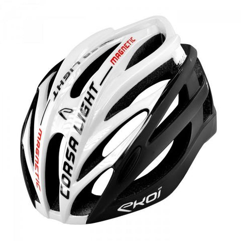 EKOI CORSA LIGHT 2019 WHITE BLACK HELMET