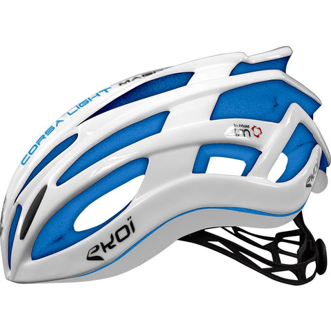 EKOI CORSA LIGHT 2017 WHITE BLUE HELMET