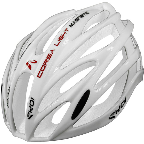 EKOI CORSA LIGHT FULL WHITE HELMET