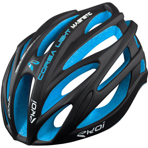 EKOI CORSA LIGHT BLACK BLUE HELMET