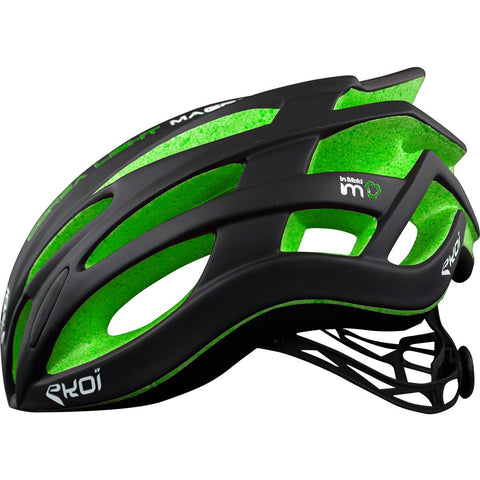 EKOI CORSA LIGHT 2017 BLACK GREEN HELMET