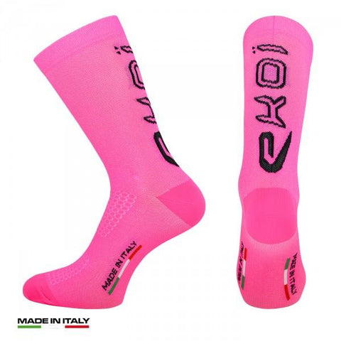 EKOI LINE PRO SUMMER CYCLING SOCKS PINK
