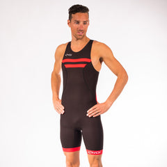 EKOI HYDRO BLACK RED TRI SUIT SLEEVELESS