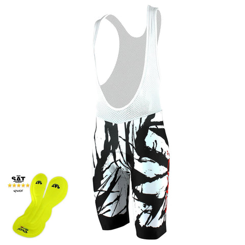 EKOI LTD CYCLING ART NSAT BIB SHORTS