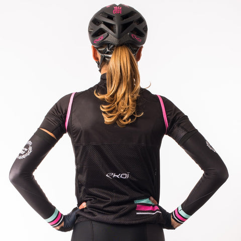EKOI LADY CLASSIC BLACK WOMEN'S CYCLING GILLET