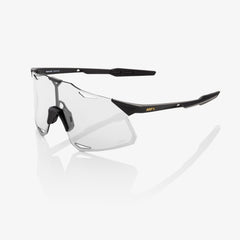 100% HYPERCRAFT - MATT BLACK - MIRROR LENS SUNGLASSES