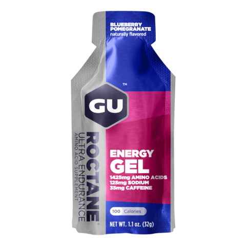 GU ROCTANE ENERGY GEL BLUEBERRY POMEGRANATE