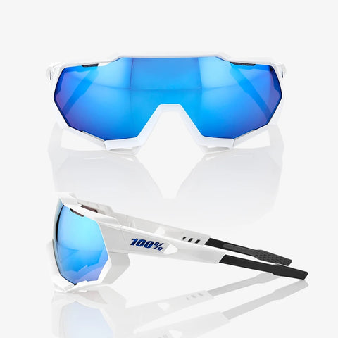 100% SPEEDTRAP - HIPER BLUE MULTILAYER - MIRROR LENS SUNGLASSES