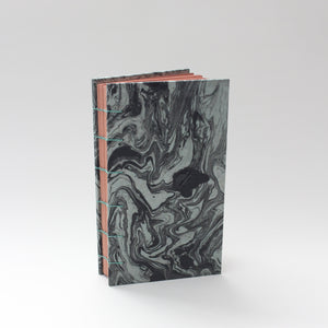 Black Marbled Hardcover Journal/Sketchbook
