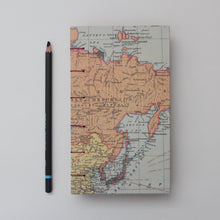 Load image into Gallery viewer, Vintage World Map Hardcover Journal/Sketchbook