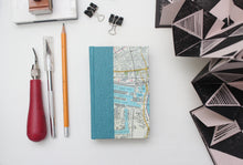 Load image into Gallery viewer, London Map Miniature Hardcover Drawing Sketchbook